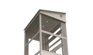 Outdoor Lift inclined Roof